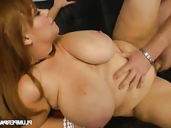 Bbw samantha drilled hard