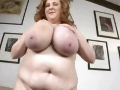 Mature chubby slut around oustanding chest..