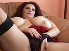 Fat perverse redhead in gets int