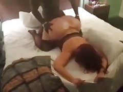 Big wide ass bbw fucked by bbc