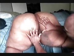 Black ssbbw riding