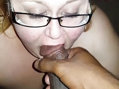 Cumslut bbw close up cumshot