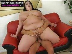 Fat gal pounding sexy fat tits plumper ass part 2