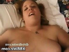 Naughty hot tasty bbw chick pegged