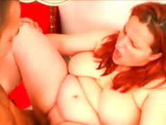 Big-titted babe chaste gets fucked in her fat ass