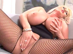 Blonde with shaved pussy laura orsolya is..