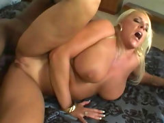 Black anal penetration with blonde alexis golden