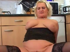 Gabor bangs big wide ass of busty chubby klara